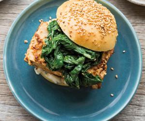 burger, food, and MISO image