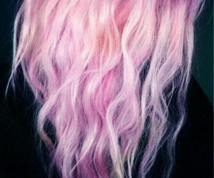 hair, i want this, and purple image