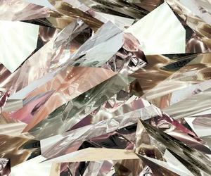 beauty, diamond, and mirror image