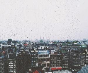 amsterdam, city, and rain image