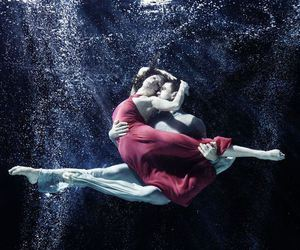 ballet, red, and blue image
