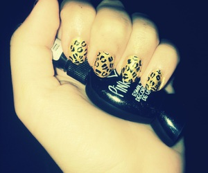 Easy, leopard, and nails image