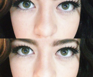 eyes, look, and lashes image