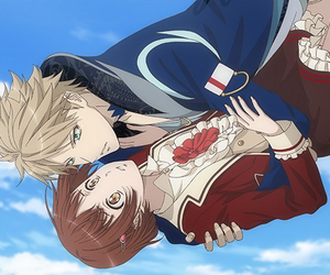 anime, couple, and dance with devils image