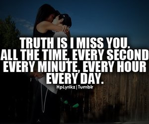 love, quote, and truth image