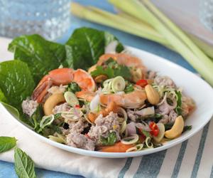 pork, lemongrass, and salad image