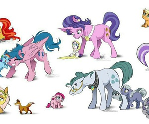 my little pony, pinkie pie, and sunset shimmer image