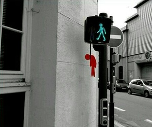 street, funny, and art image