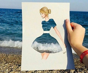 diy, fashion, and illustration image