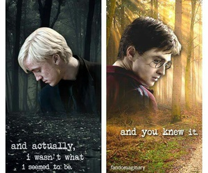 hp, drarry, and harry draco image