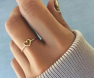 heart, ring, and yes image
