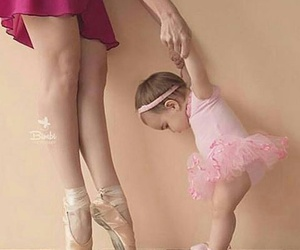 ballet, cute, and mom and daugther image