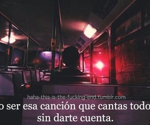 song, frases, and text image