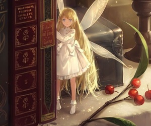 anime, elf, and lolita image