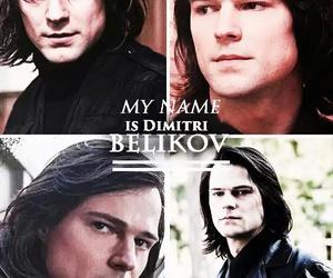 vampire academy and dimitri belikov image