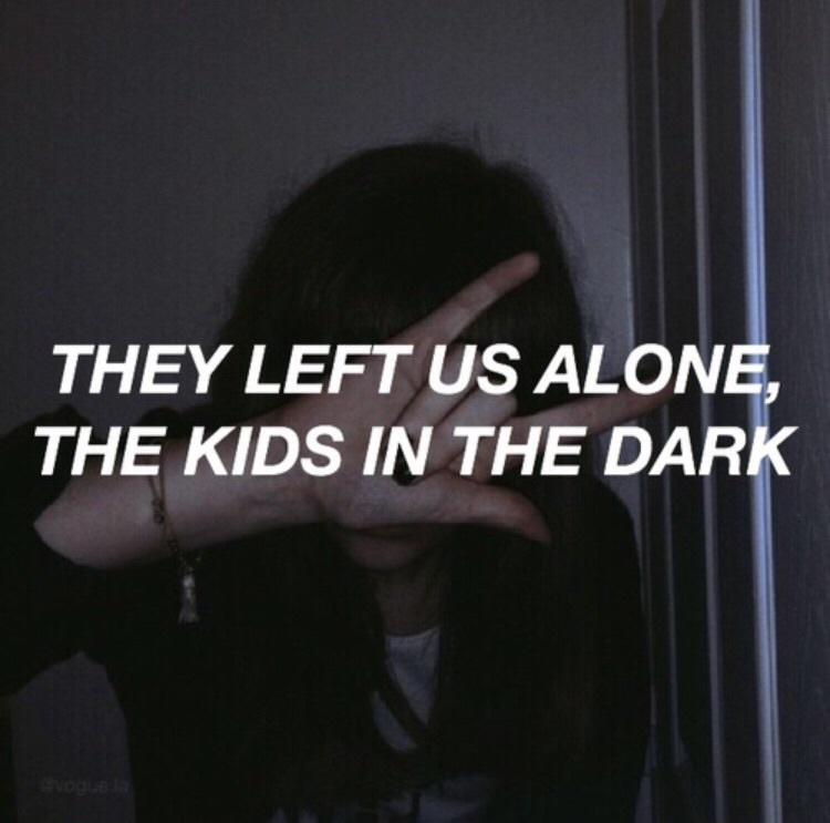 all time low, kids in the dark, and Lyrics image