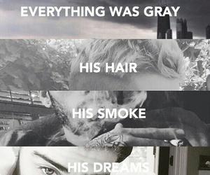 gray, smoke, and zayn image