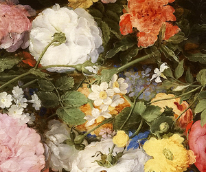 17th century, art, and flowers image