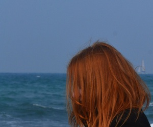autumn, hair, and me image