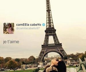 paris, tweet, and camila cabello image