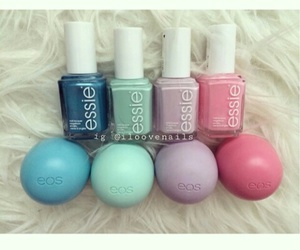 essie, eos, and pink image
