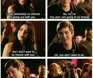 stuck in love, logan lerman, and lily collins image