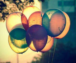 balloon, balloons, and beautiful image