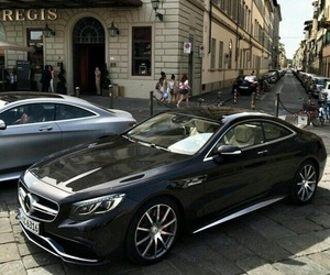 expensive, mercedes, and black image