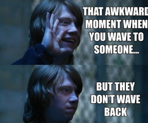awkward, harry potter, and funny image