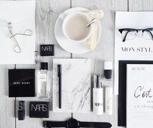 nars, coffee, and makeup image