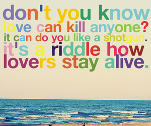 beach, kill, and quote image