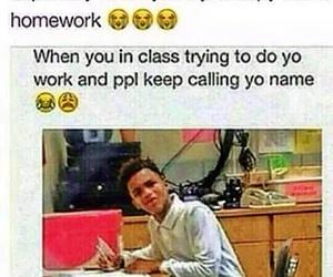 class and homework image