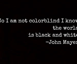 black and white, john mayer, and stop this train image