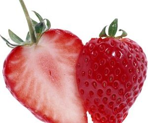 overlay, strawberry, and edit image
