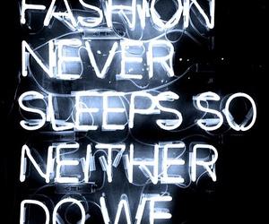 fashion, quote, and sleep image