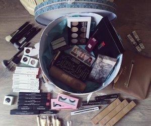 makeup, gift, and eyelashes image