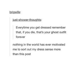 clothes, funny, and ghost image