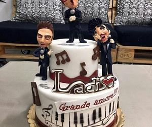 birthday cake, il volo, and it's my birthday image