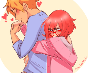 anime, beyond the boundary, and cute image