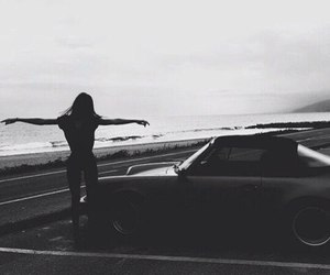 car, kendall jenner, and black image
