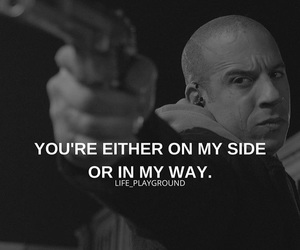 quote, quotes, and Vin Diesel image