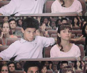 boy, girl, and Taylor Lautner image