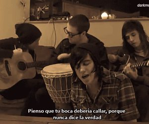 frases, sleeping with sirens, and canciones image