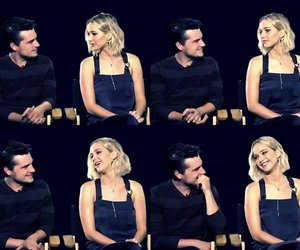 joshhutcherson, jenniferlawrence, and joshifer image