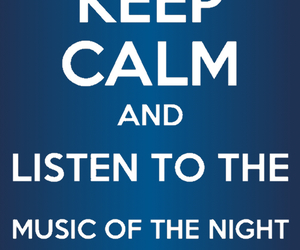 The Phantom of the Opera and music of the night image