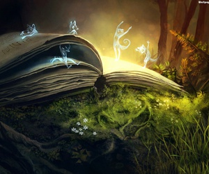 books, fantasy, and hu image