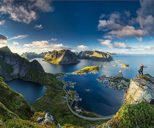 nature, norway, and landscape image