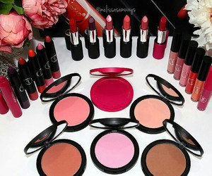 fashion, lipstick, and make up image
