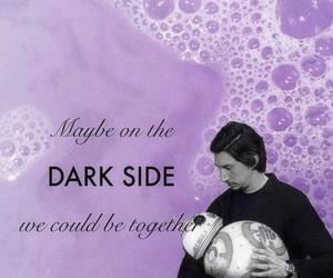 background, dark side, and movie image