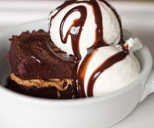 chocolate, ice cream, and food image